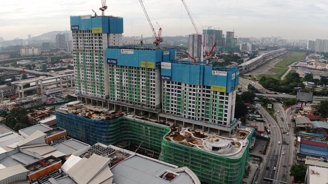 site progress 14 January 2021