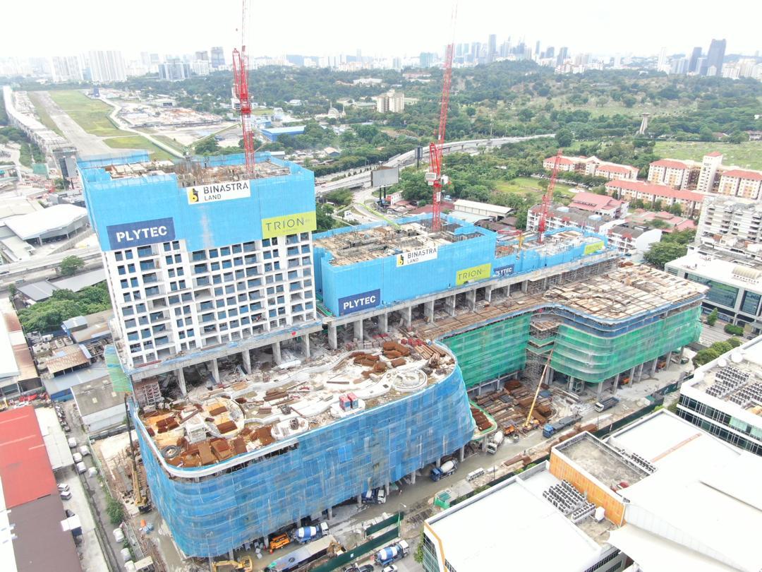 site progress 14 September 2020