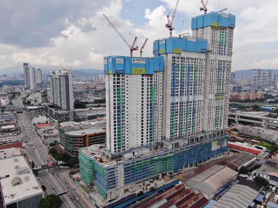 site progress 17 June 2021