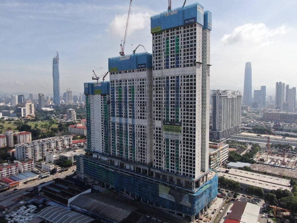 site progress 25 June 2021