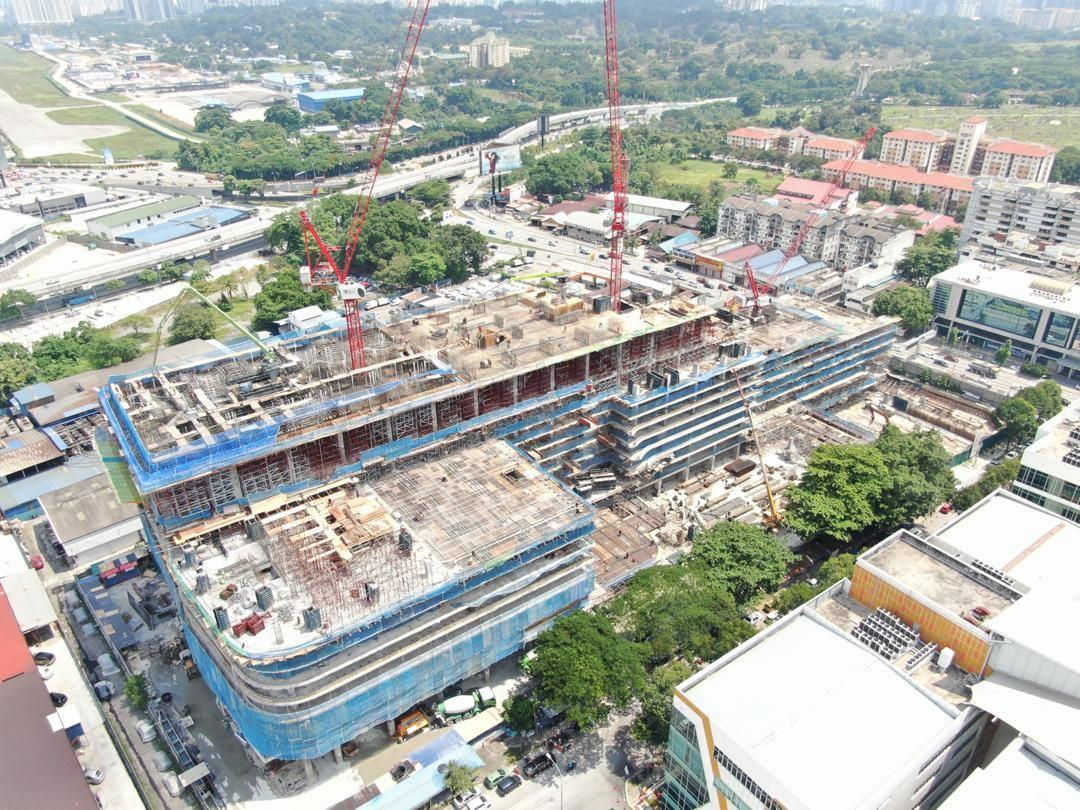 site progress 22 June 2020